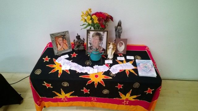 First anniversary altar